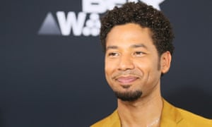 Empire star Jussie Smollett was taken to hospital. Police said he was in good condition.
