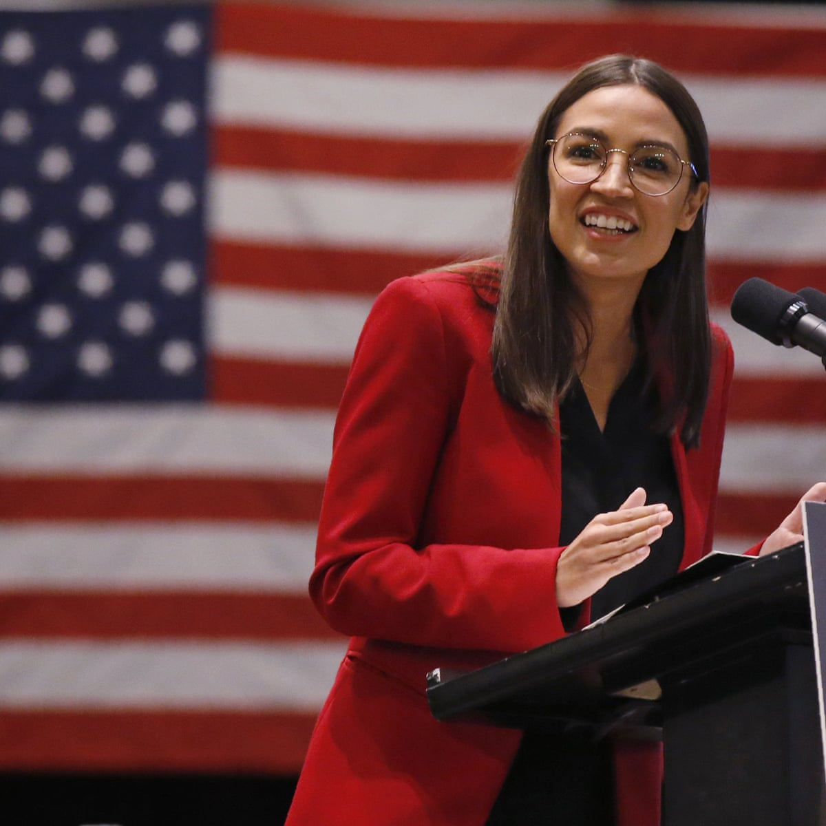I Really Hope She Is The Future Aoc S Support Of Sanders Fuels 2024 Speculation Us News The Guardian