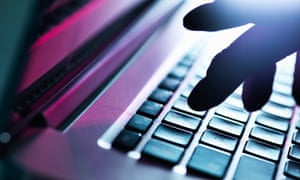 PageUp data breach hack silhouetted hand on keyboard