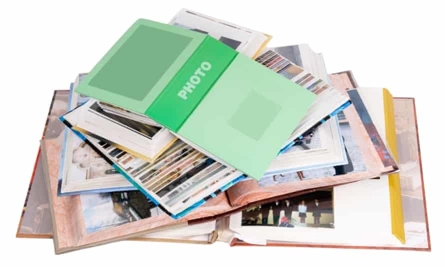 Storing photos was far more straightforward in the past