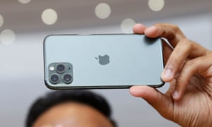 The camera is the main focus of the iPhone 11 Pro.