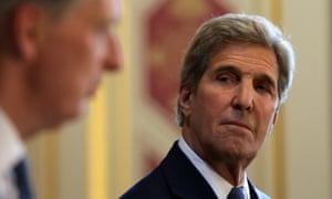 John Kerry and Philip Hammond