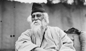 Rabindranath Tagore in 1935.