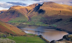 Scafell Pike and Wastwater
