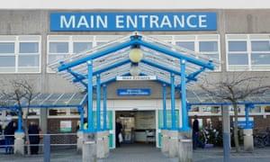 The William Harvey hospital in Ashford, Kent.
