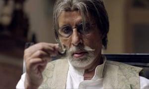 Rookish grandmaster … Amitabh Bachchan in Wazir