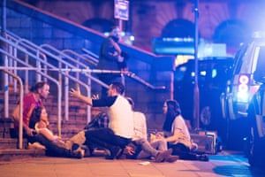 Casualties outside the arena