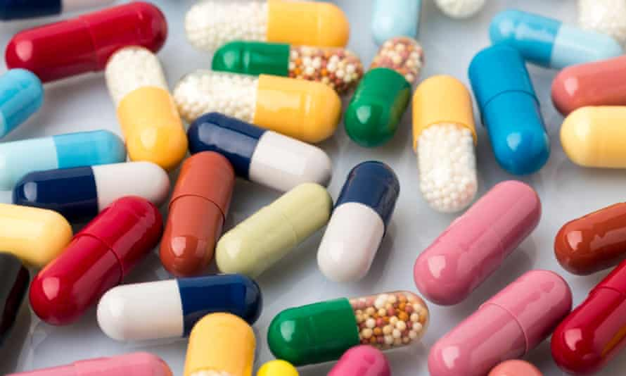 medical pills and drugs