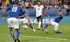 Mesut Özil goal, Germany v Italy