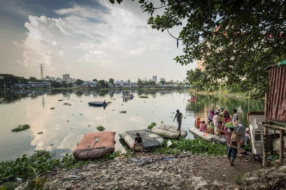 River scene in Bangladesh
