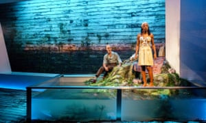 Finbar Lynch and Nikki Amuka-Bird in The Lady from the Sea.