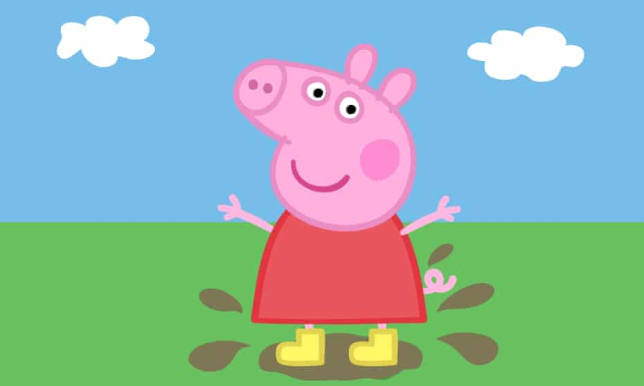 Illustration of Peppa Pig