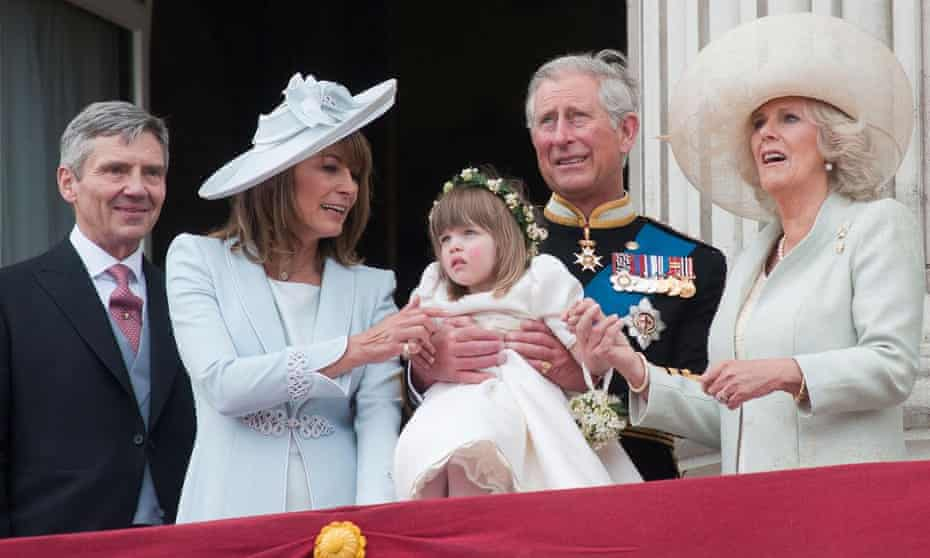 When the Middletons met the Monarchy.