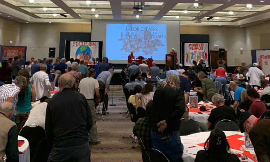 Communists and interested guests gather in Chicago.