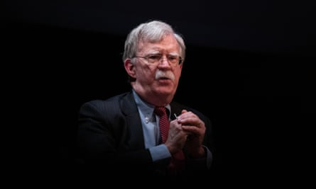 John Bolton's boo, The Room Where It Happened, 'shows a president addicted to chaos', according to its publisher.
