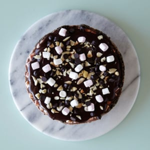 Linda Lomelino's rocky road ice-cream cake.