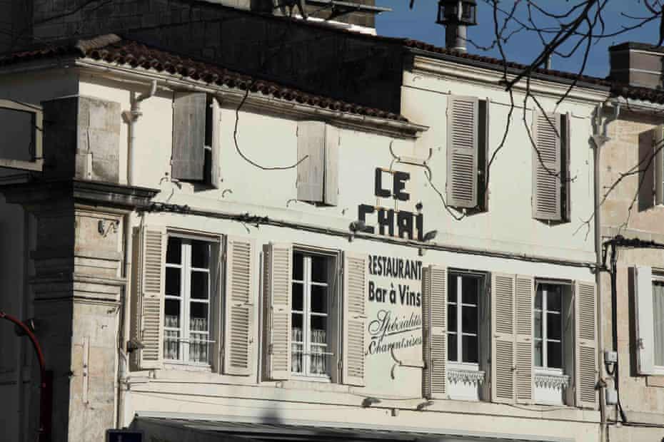 Le Chai restaurant in Cognac