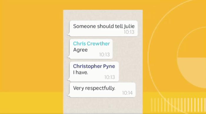 Leaked WhatsApp messages reveal Julie Bishop's leadership bid