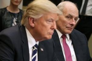 John Kelly with Donald Trump