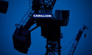 Carillion employs 43,000 people, including almost 20,000 in the UK.