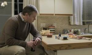 Reduced circumstances: Matt Damon and friend in Downsizing.