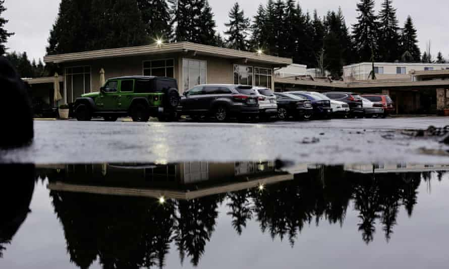 The Life Care Center of Kirkland, the long-term care facility linked to several confirmed coronavirus cases.