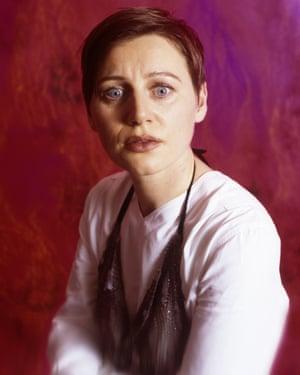 Elizabeth Fraser in 1996.