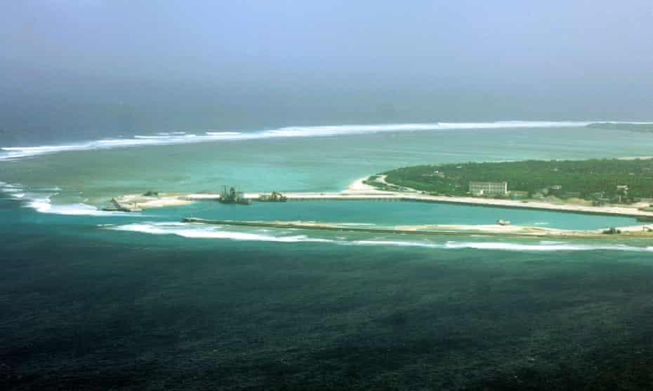 The city of Sansha on Woody Island
