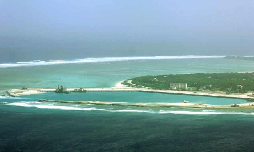 Woody island in the disputed Paracel chain, which China now considers part of Hainan province. China has deployed surface-to-air missiles on the disputed island in the South China Sea.