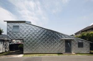 Zinc House, Terunobu Fujimori, 2014, Kokubunji, Tokyo Prefecture