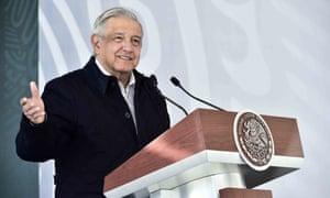 Mexican president, Andrés Manuel López Obrador.