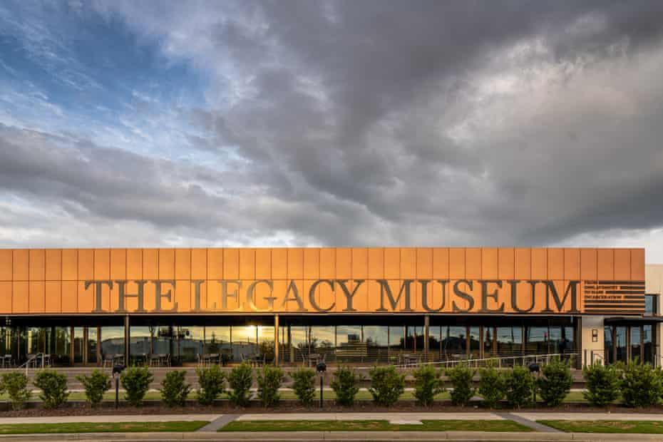 The new exhibition is housed on the exact location of a former slave warehouse where Black people were held in bondage, forced to process cotton and held in pens in preparation for being sold.
