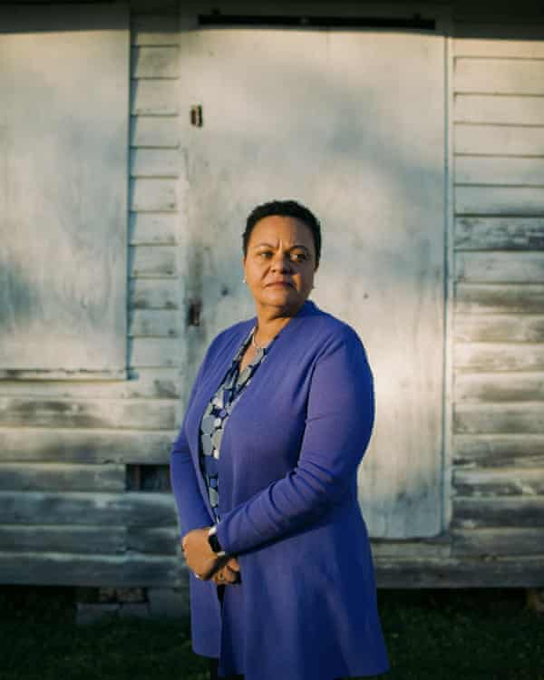 Karen Carter Peterson in Donaldsonville, La. on Thursday, March 18th, 2021 is running for the congressional seat in Louisiana's second district.