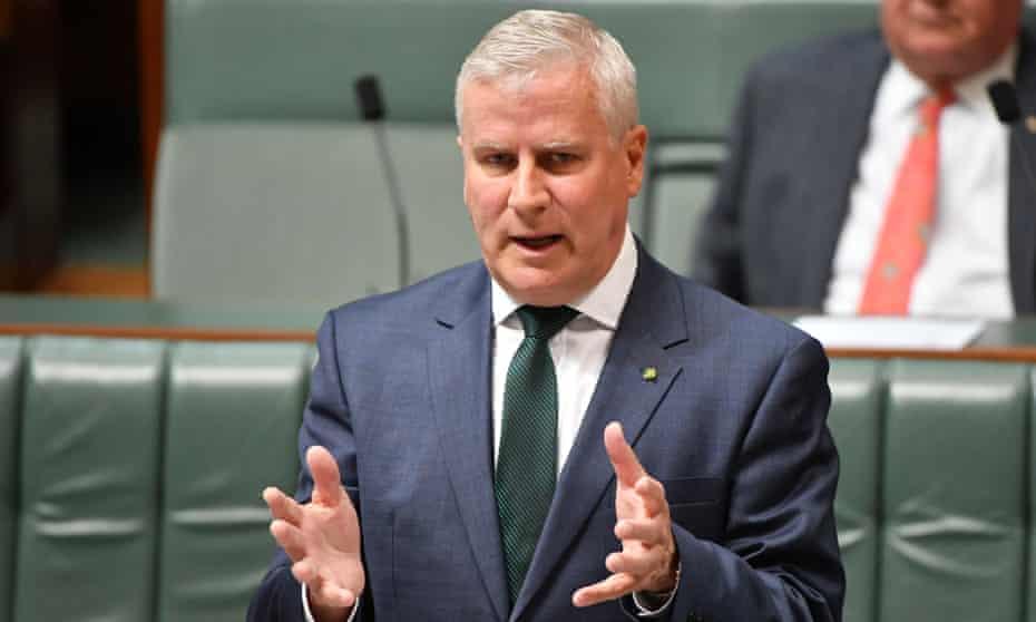 Australia's deputy prime minister Michael McCormack