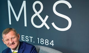 Steve Rowe, the new M&S chief.