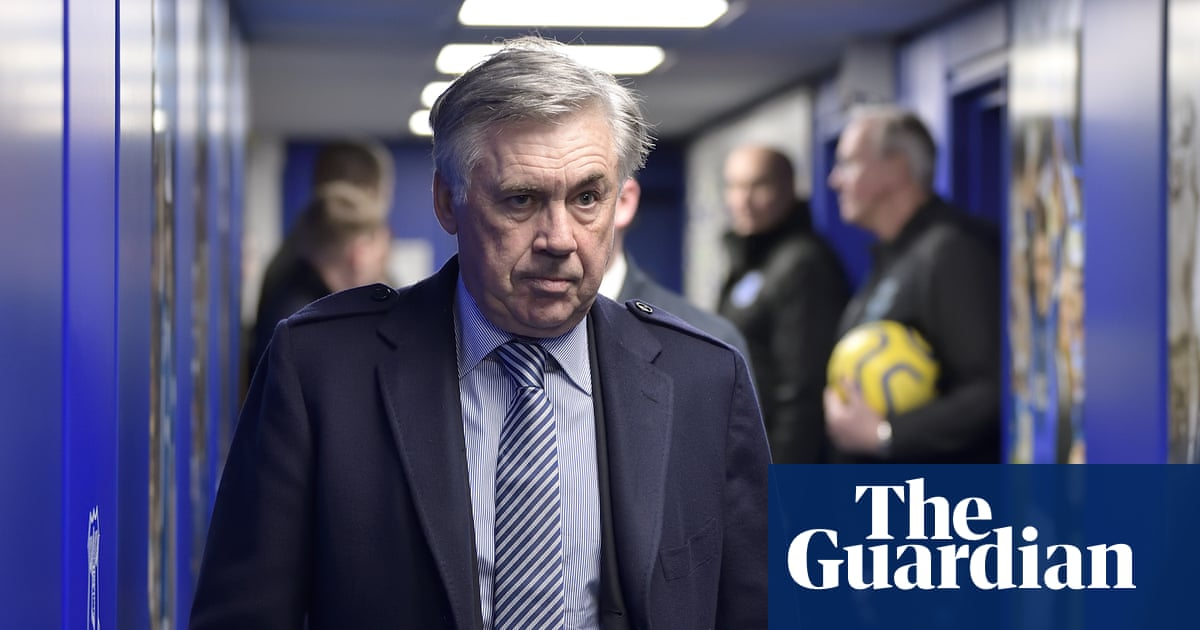 Everton's Carlo Ancelotti aims high for 'one of the greatest clubs in England'