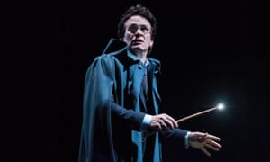 Jamie Parker as Harry Potter in the latest chapter of the wizarding saga