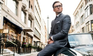 Taron Egerton: great at fighting and wearing suits, but not much else.