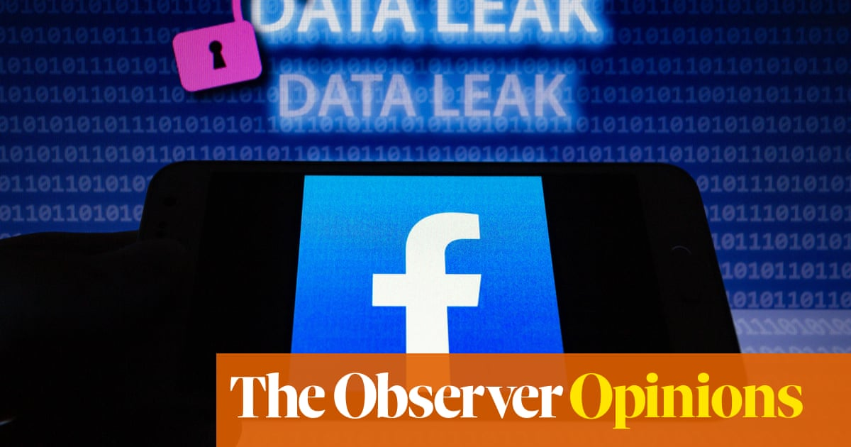 Another huge data breach, another stony silence from Facebook | Carole Cadwalladr