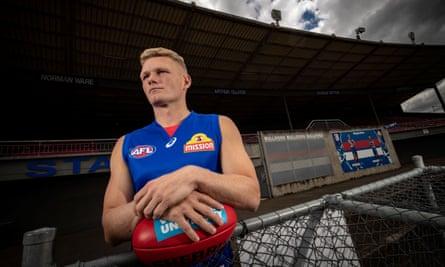 New Western Bulldogs recruit Adam Treloar