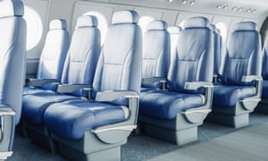 Using composite materials for seats allows companies to 'whittle away volumes that are not contributing to comfort'.