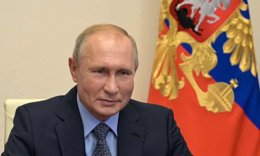Russian leader Vladimir Putin.