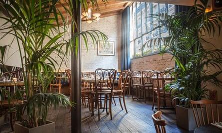 By day … restaurant-cum-club L'Entrée des Artistes.