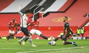 Son Heung-min scores Tottenham's fourth goal