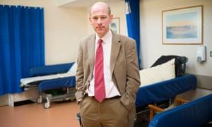 Dr Rupert McShane at Warneford hospital.