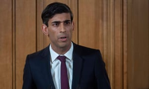 Rishi Sunak announces the new measures at a press conference on Friday afternoon.