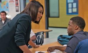 Hard lessons … Tiffany Haddish and Kevin Hart in Night School.