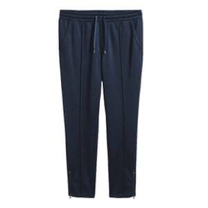 Dark blue sports trousers