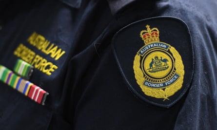 An Australian Border Force emblem