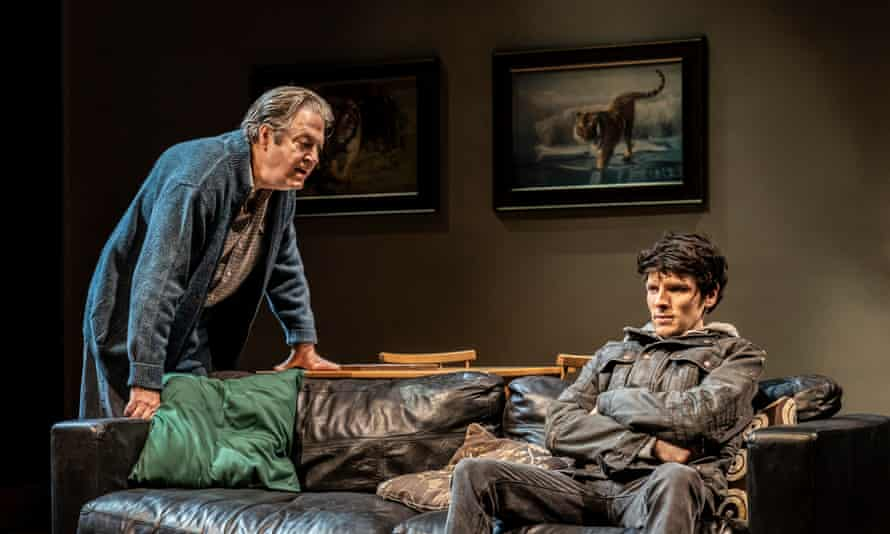 Roger Allam and Colin Morgan in A Number.
